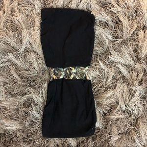 San Lorenzo reversible bikini top